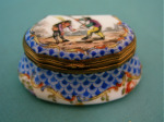 A 19th Century Sevres Style Porcelain Snuff-box