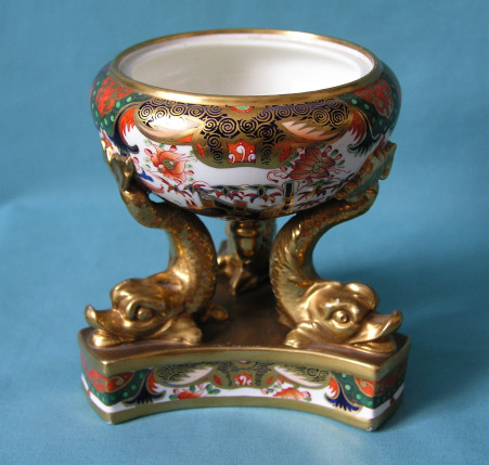 A Spode Incense Burner, Pattern 967 c.1815