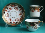 Spode imari cup and saucer Pattern 1645 c.1815