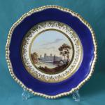 A Spode Porcelain Cabinet Plate c.1825