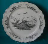 A Wedgwood Creamware Charger c. 1780