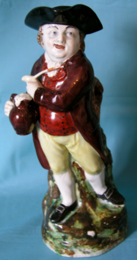 pearlware toby jug Hearty Goodfellow