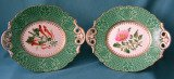 A Pair of S. Alckock Porcelain Dishes c.1850