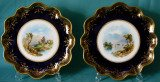 A Pair of Aynsley cabinet plates c.1880