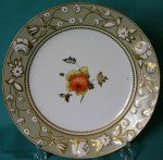 An Early 19th century Chamberlain Worcester plate