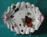 A Chelsea silver-shaped porcelain dish c.1755