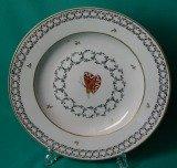 A Cozzi Porcelain Plate c.1780
