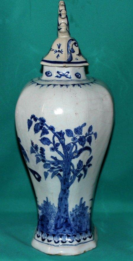 18th Century Dutch Delft Vase