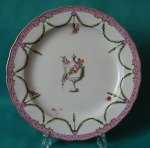 A Derby Porcelain Plate c.1775