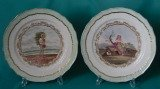 A Pair of Coalport Dessert Plates c.1805-10