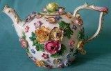 Late 19th century Meissen teapot