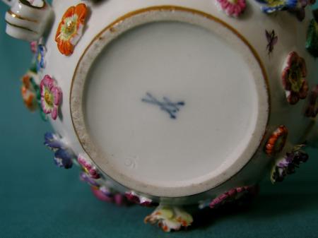 19th Century Meissen Teapot