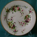 A Very Rare Minton Porcelain Plate c. 1800-10