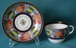 A New Hall cup and saucer c.1815
