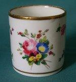A Paris Porcelain Coffee Can c.1810-20