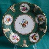 A Ridgway Porcelain Dessert Plate c.1810