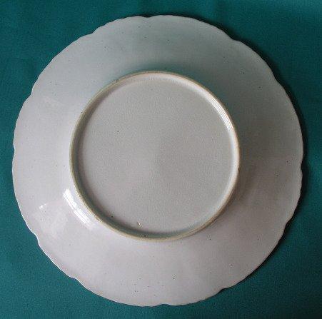 A Rockingham Porcelain Dessert Plate C 1830