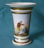 An English Porcelain Spill Vase c.1825