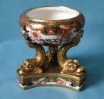 A Spode Incense Burner 967 Pattern, c.1815