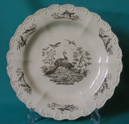 A Wedgwood Creamware Plate c.1780