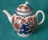 A Worcester Porcelain Teapot c.1770