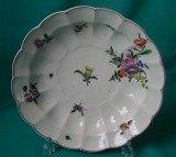 A Worcester Porcelain Junket Dish c.1765